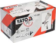 YATO 2341 Festékszóró pisztoly HVLP 0,6l 1,5mm