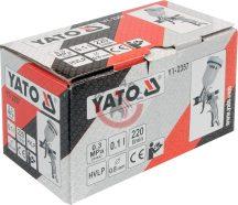 YATO 2357 Festékszóró pisztoly HVLP 0.1, 0.8 mm