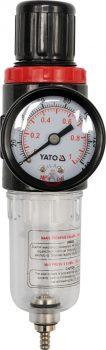 """YATO 2382 Reduktor, manométerrel, 1/4"""""""