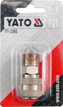 """YATO 2392 Gyorscsatlakozó 1/2""""M->1/4""""F"""