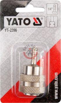 """YATO 2396 Gyors csatlakozó 1/4"""" tömlővéges"""