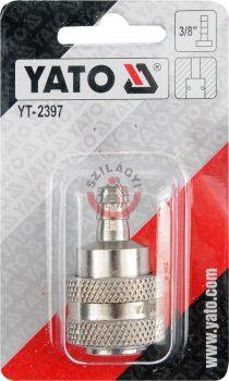 """YATO 2397 Gyors csatlakozó 3/8"""" tömlővéges"""
