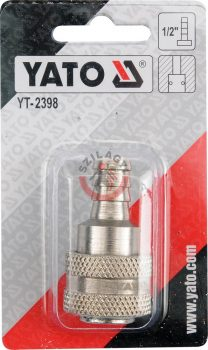 """YATO 2398 Gyors csatlakozó 1/2"""" tömlővéges"""