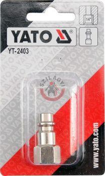 """YATO 2403 Gyors csatlakozó ellendarab 1/4"""""""