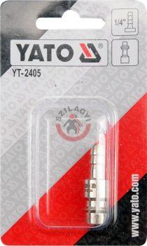 """YATO 2405 Gyorscsatlakozó 1/4"""""""