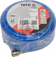 YATO 24225 Levegő tömlő 10 mm, 20 m (Max:2.0 MPa)