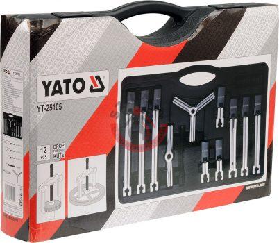 YATO 25105 Csapágylehúzó készlet 12 részes