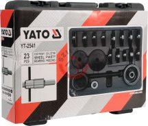 YATO 2541 Csapágy lehúzó készlet első futóműhöz 21 részes