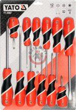 YATO 25967 Csavarhúzó készlet 12r