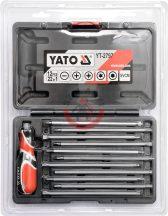 YATO 2797 Csavarhúzó készlet 22in1