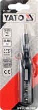 YATO 2861 Digitális voltmérő 12-250V