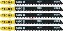 YATO 3404 Dekopírlap fához 75mm 5db