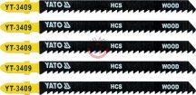 YATO 3409 Dekopírlap fához 90mm 5db
