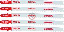 YATO 3417 Szúrófűrész lap Bi-Metal Univerzális 130/106