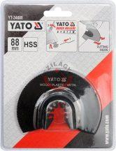 YATO 34680 Rezgőfűrész lap fémre, fára, műanyagra (félkör)