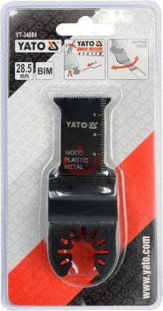 YATO 34684 Rezgőfűrész lap fémre, fára , műanyagra 3db csomag