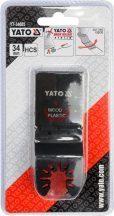YATO 34685 Rezgőfűrész lap  fára , műanyagra 3db csomag