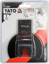 YATO 34691 Multiszerszám penge 3db/csomag
