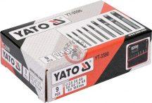 YATO 3590 Bőrlyukasztó készlet 2,5-10mm 9 részes