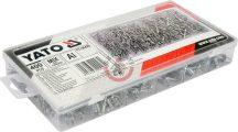 YATO 36420 Popszegecs készlet 2.4,3.2,4.0,4.8 mm 400db