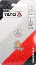 YATO 3713 Tartalék görgő (YAT-3703-hoz) 12,6X3X3mm
