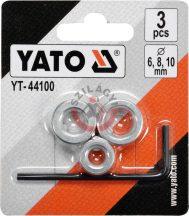 YATO 44100 Csigafúró mélységhatároló ( 6,8,10 mm)
