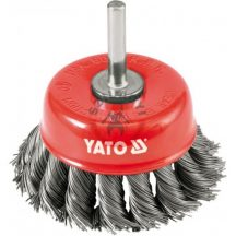 YATO 4752 Csavart fazék drótkefe 75mm