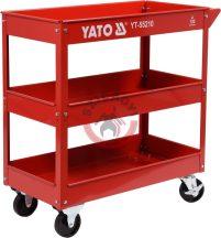YATO 55210 Műhelykocsi 3 tárcás