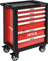 YATO 55299 Szerszámos kocsi 6 fiókos /üres/