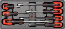 Fiókbetét 5530-hoz: lapos csavarhúzók 7 részes