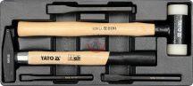 YATO 5540 Fiókbetét/ kalapácsok , hidegvágók