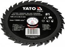 YATO 59172 Marótárcsa fára 125mm