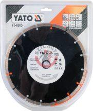 YATO 6005 Gyémántvágó tárcsa 230mm szegmentált