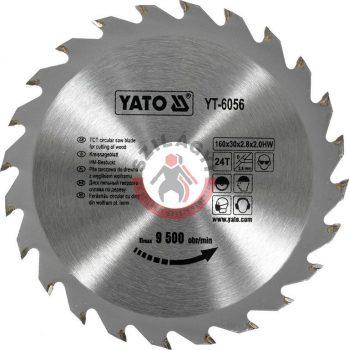 YATO 6056 Körfűrész lap vídiás 160x24x30