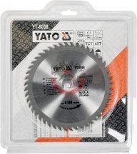 YATO 6058 Körfűrésztárcsa fához 160 x 20 mm T48