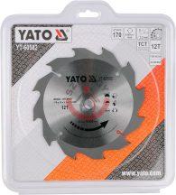YATO 60582 Körfűrésztárcsa 170mm x 26 T12