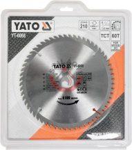 YATO 6068 Körfűrész lap vídiás 210x60x30