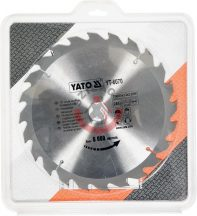 YATO 6070 Körfűrésztárcsa fához 250 x 30 mm T24