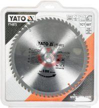 YATO 6072 Körfűrész lap vídiás 250x60x30