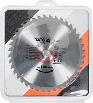 YATO 6076 Körfűrésztárcsa fához 300 x 30 mm T40