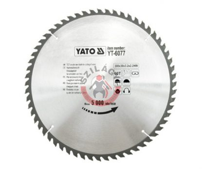 YATO 6077 Körfűrész lap vídiás 300x60x30