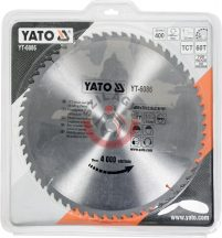 YATO 6086 Körfűrész lap vídiás 400x60x30