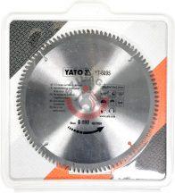 YATO 6095 Körfűrész tárcsaAlu-hoz 250x30x3.0x2.2mm 100T