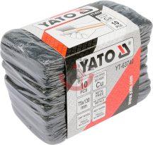 YATO 63740 Csiszoló szivacs rézcsőhöz 10db/csomag