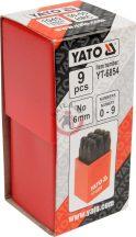 YATO 6854 Szám beütő 6mm 9r