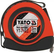 YATO 7103 Mágneses mérőszalag 3m