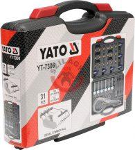 YATO 7306 Diagnosztikai készlet COMMON RAIL injektorokhoz, átfolyós