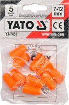 YATO 7451 Fülvédő 5pár 7-12mm