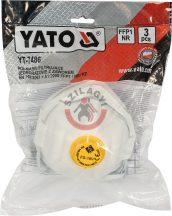 YATO 7486 Pormaszk szelepes FFP1 3db