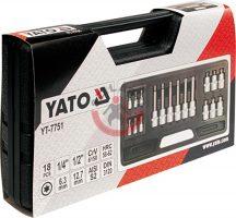 YATO 7751 Rátűzőkulcs készlet
